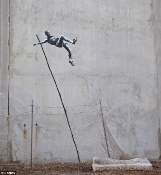 banksy olympics graffiti