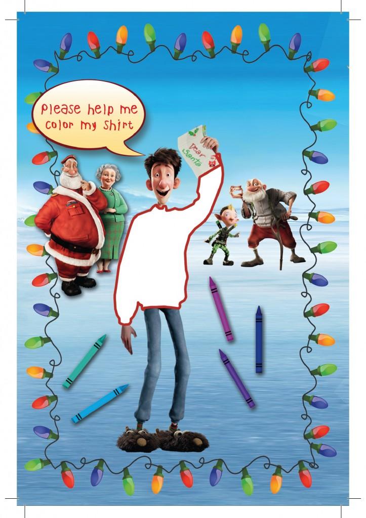 Arthur Christmas Poster.Arthur S Christmas Dvd Giveaway Life At The Zoo