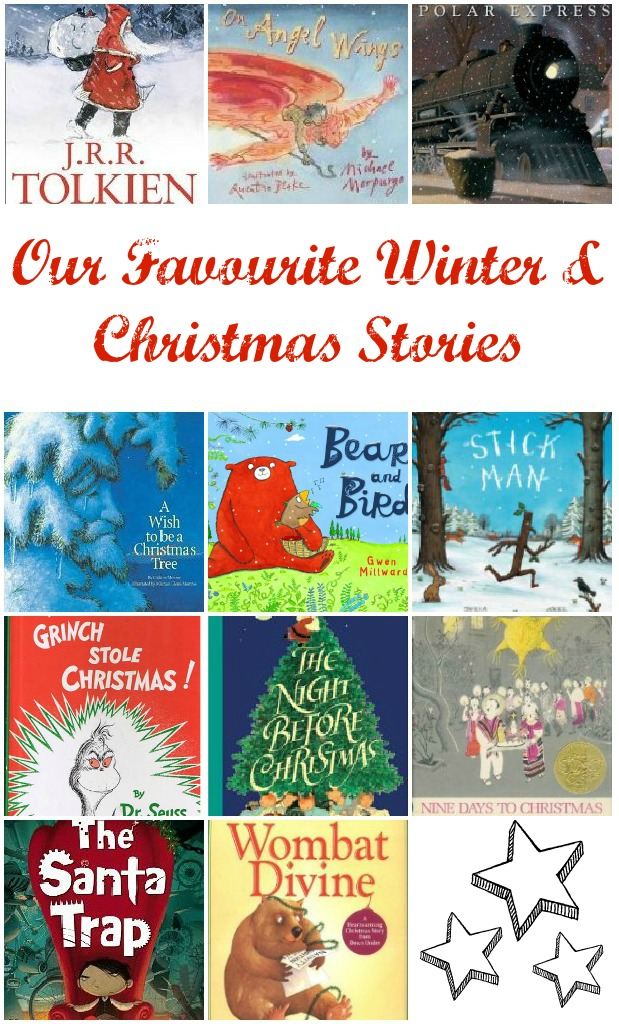 "Favourite Christmas & Winter Books from our the World. Discover classics and quirky ""new"" books. via www.lifeatthezoo.com"