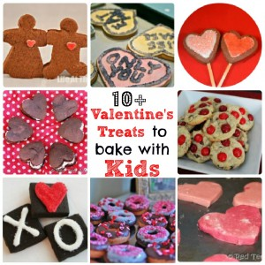 Valentines Treats for kids to bake