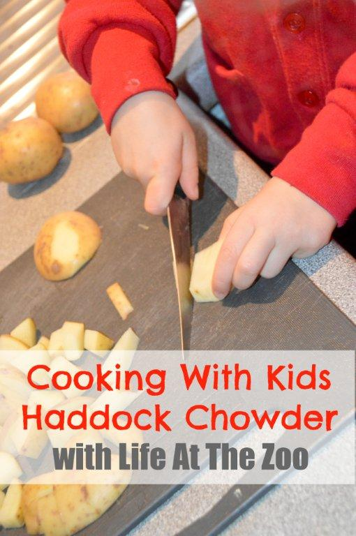 Cooking with Kids Haddock Chowder