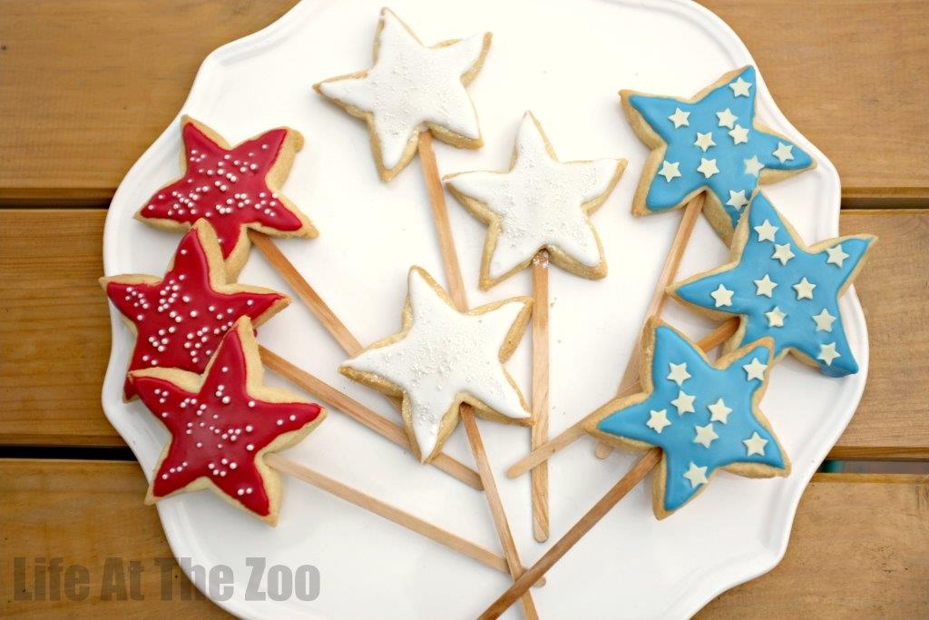 4th July Cookies For Kids