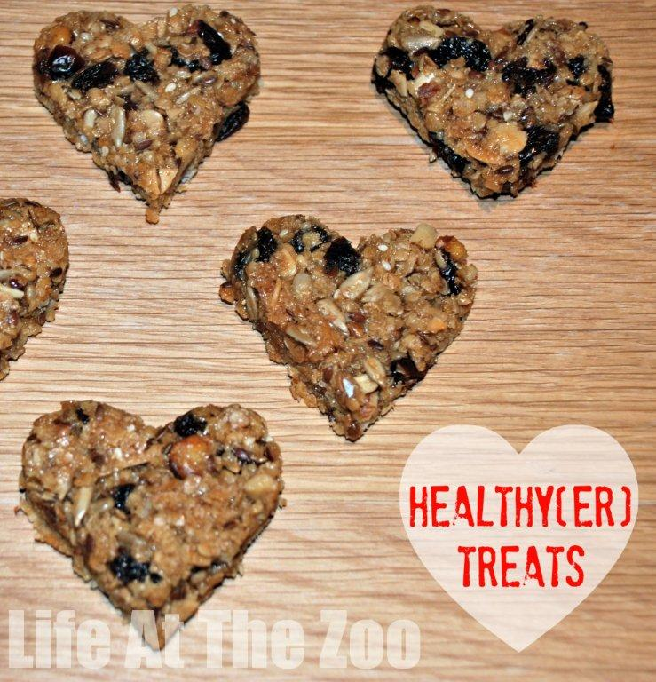 Healty(er) Valentine's Treat - heart granola bar for your lunchbox