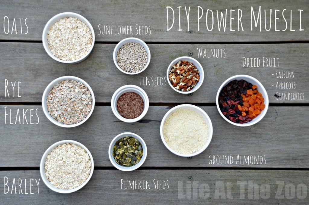 DYI Muesli Recipe