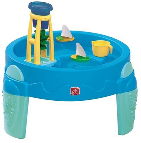 Toddler water table play