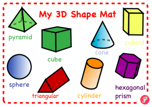 3D Shapes for Reception