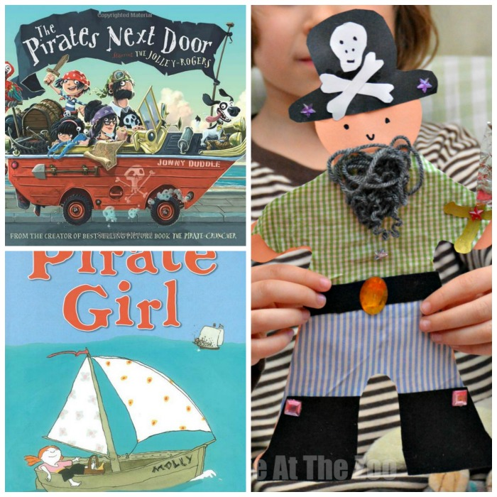 Pirate Books and Crafts for Girls and Boys
