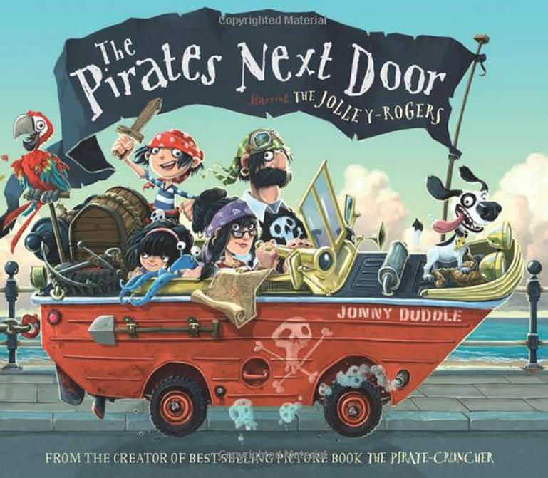 pirate books for girls and boys