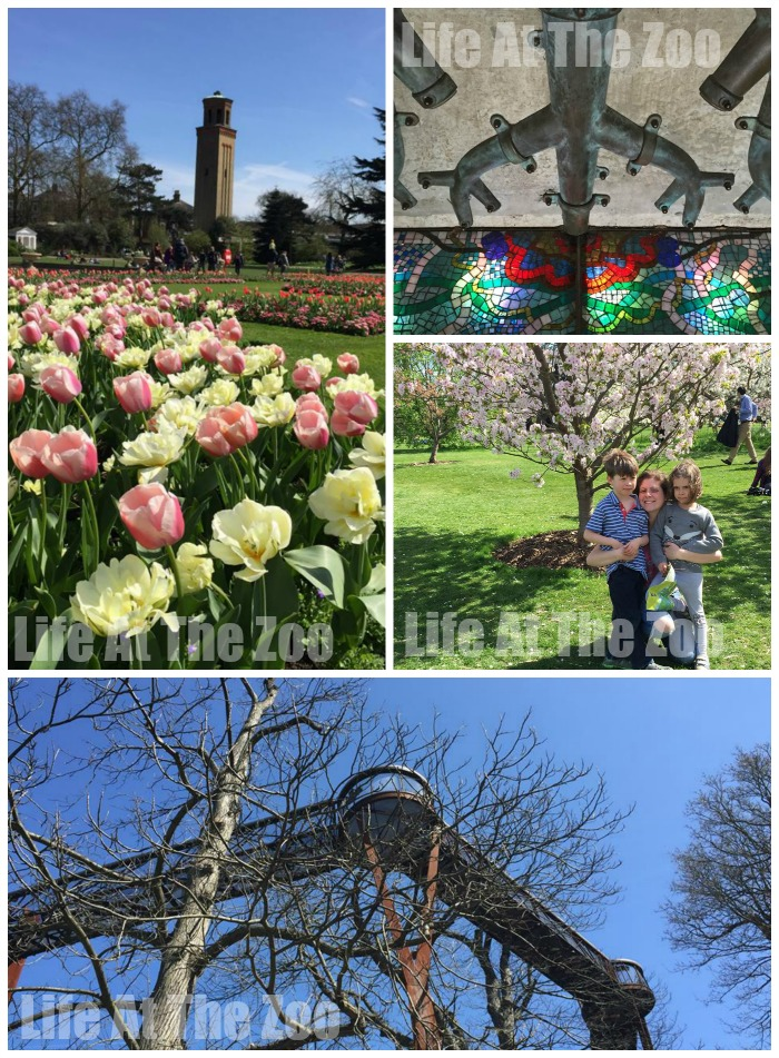 London for Kids - Kew Gardens in Spring