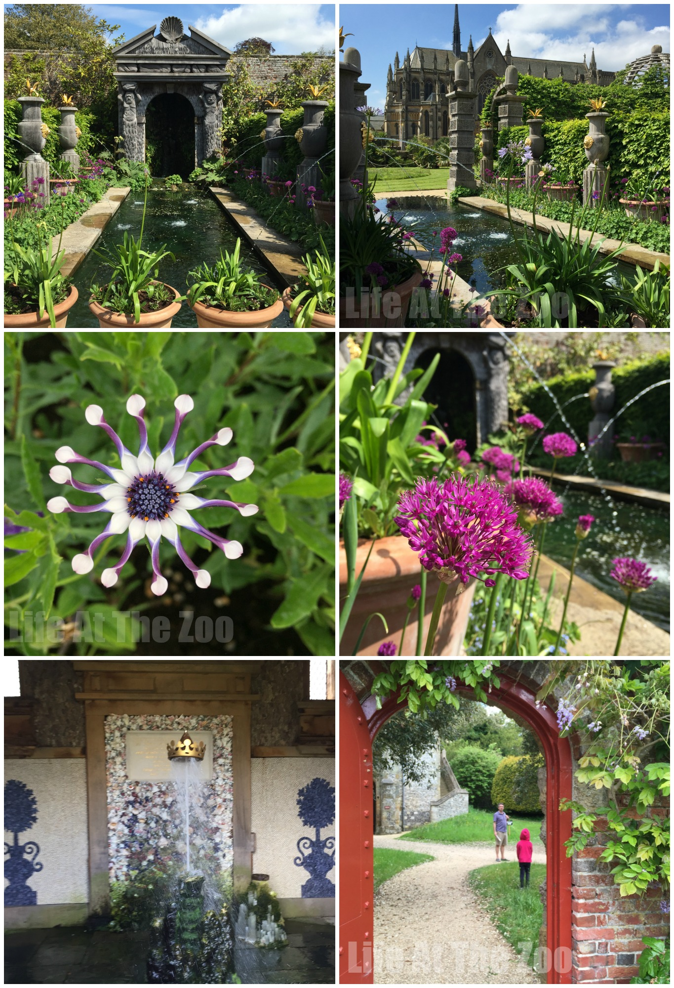 Arundel Castle - the beautiful gardens