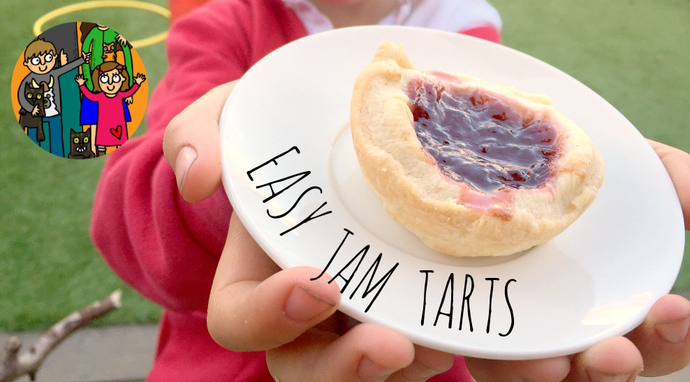 Jam Tarts - easy recipes for kids