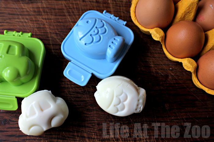How to use Bento Egg Molds for a fun Lunchbox addition