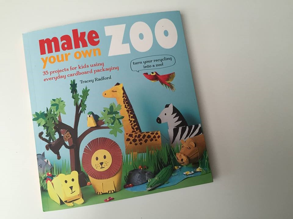 Cardboard Zoo Craft Ideas for Kids (12)