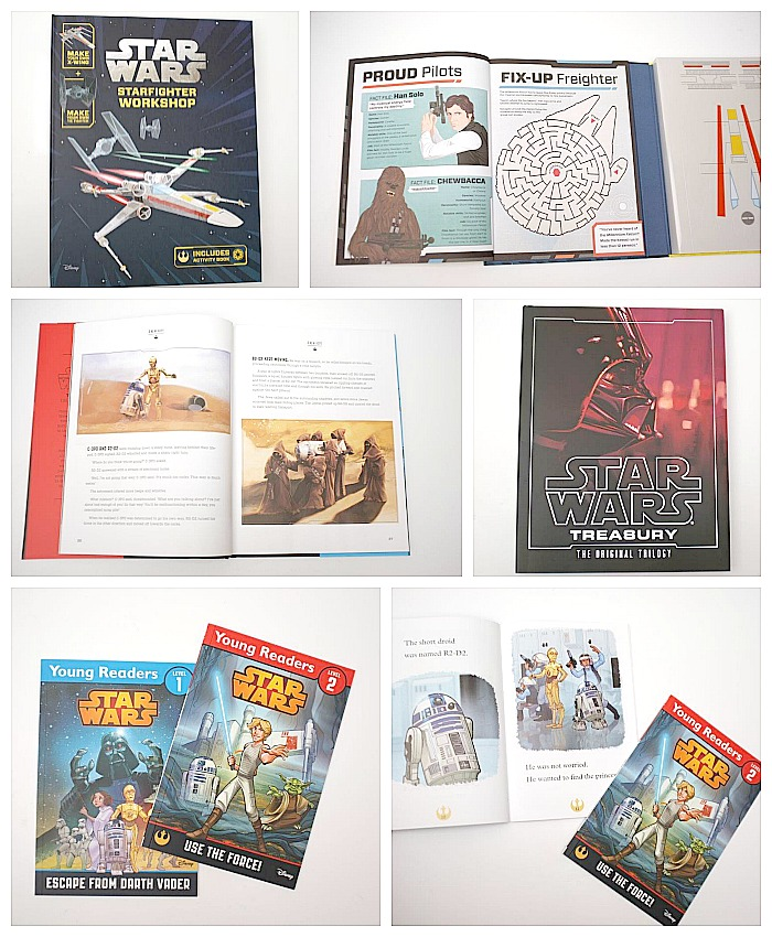 Awesome STAR WARS books (review & giveaway) - Life At The Zoo