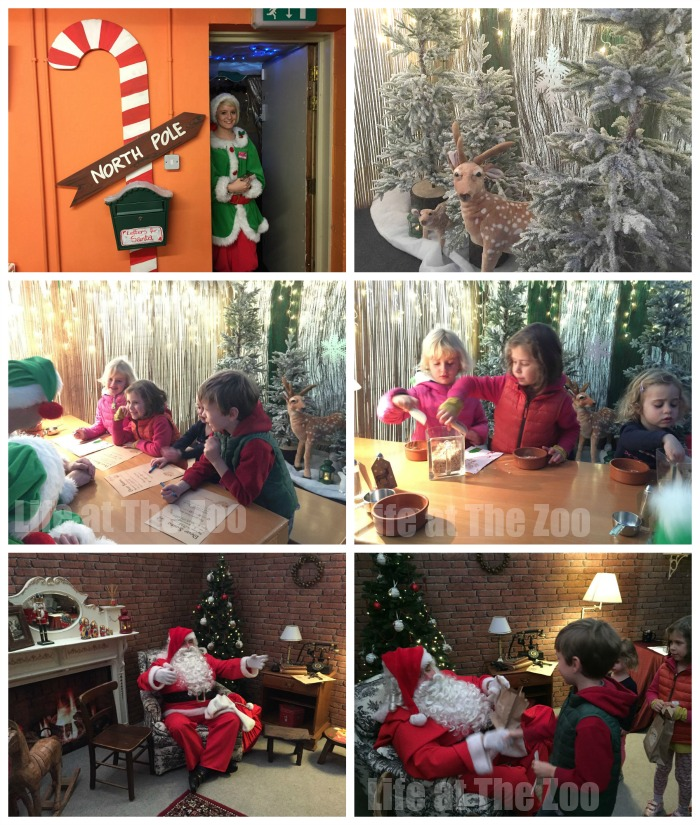 Santa's grotto wimbledon eddie catz - a lovely day out