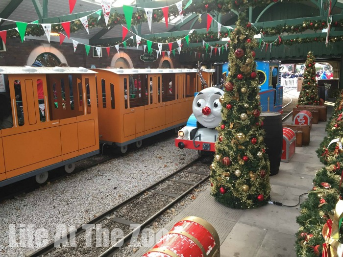 thomas land at christmas for kids