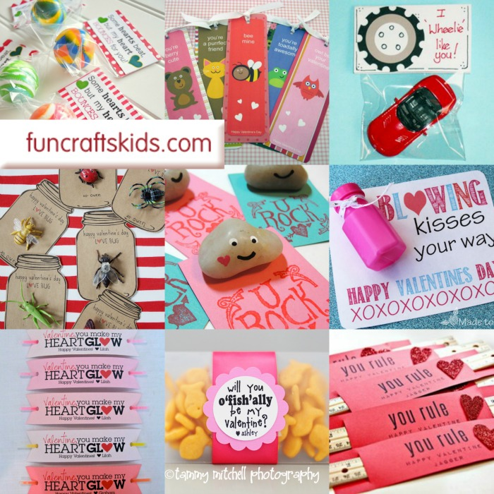 No Candy Valentines Day Printable Ideas, these little gift ideas and play on words are genius!