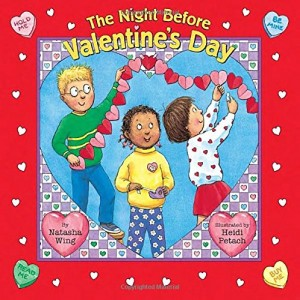 Valentines day books for kids - the night before valentines day