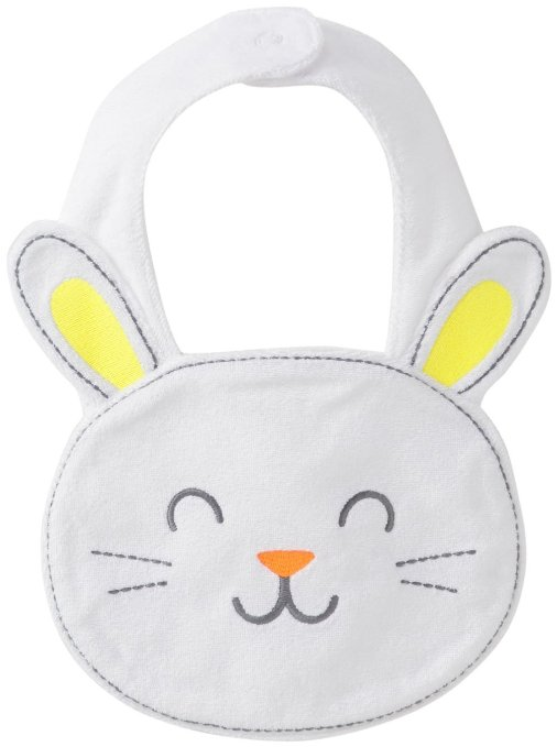 no candy gifts for easter - easter bunny bib