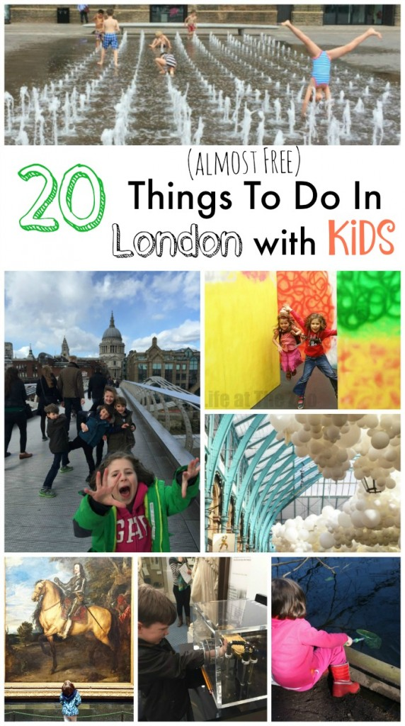 20 Almost Free Things To Do With Kids In London Tried And Tested