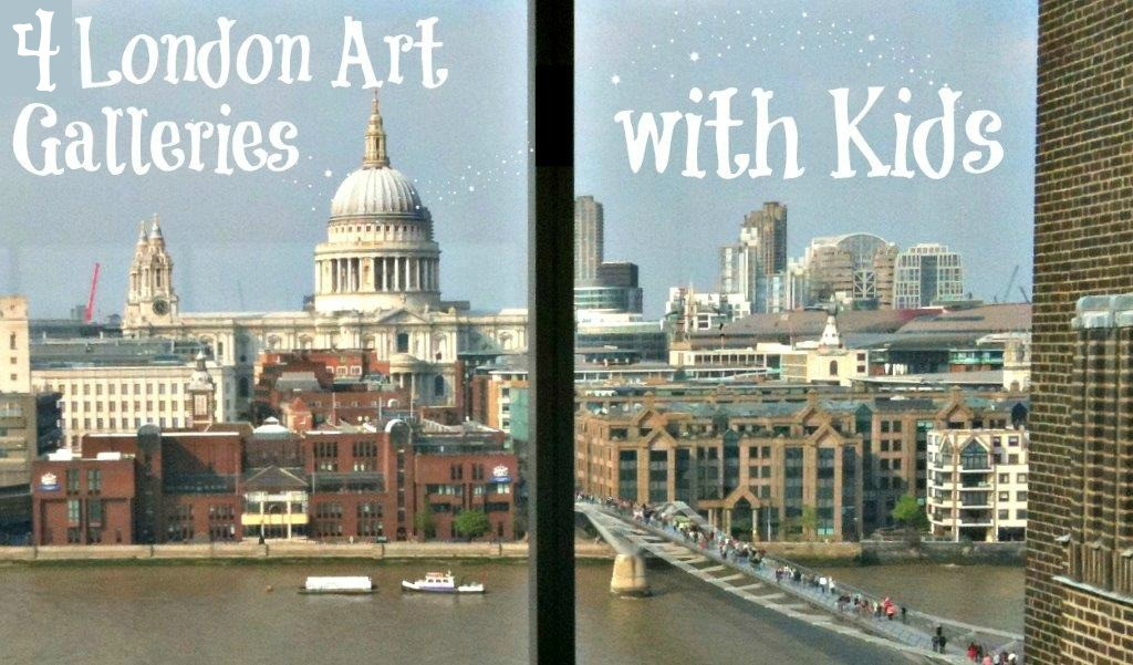 4-London-Art-Galleries-with-Kids - kids in london