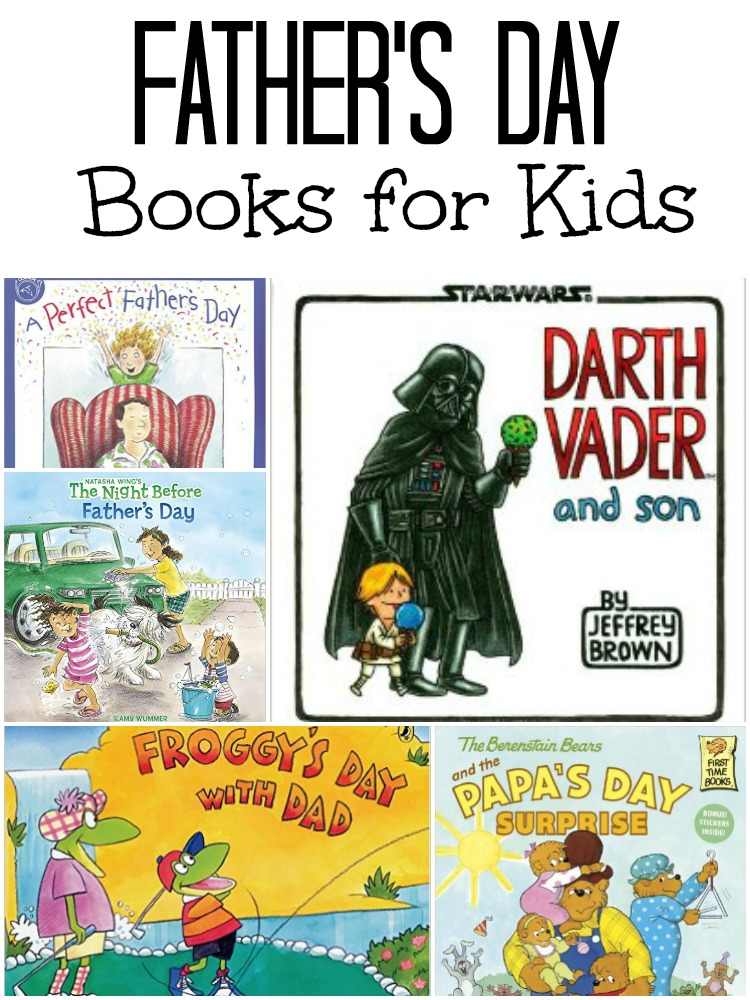 Father's Day Books for kids - a wonderful selection of fun and inspirational books