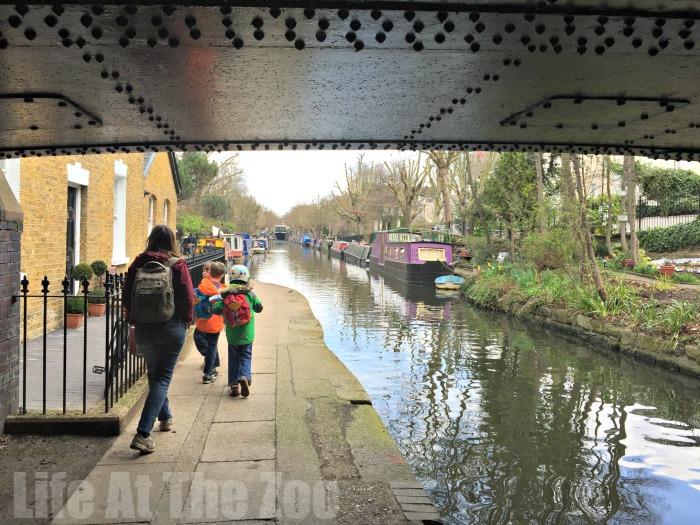 London Canal Walks - walking tours in london for kids