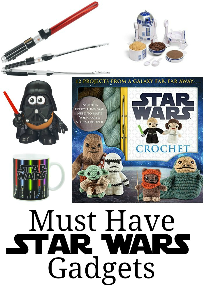Must Have Star Wars Gadgets! May the 4th be with you. The best Star Wars gadgets out there!