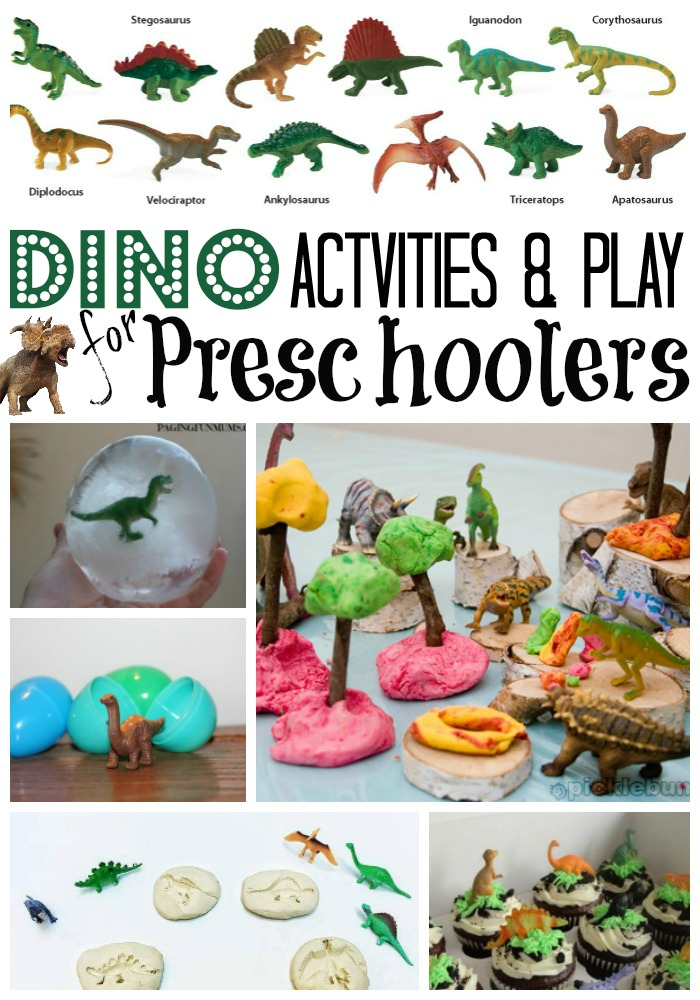 Dinosaur activities for preschool life at the zoo for Dinosaur crafts for preschool