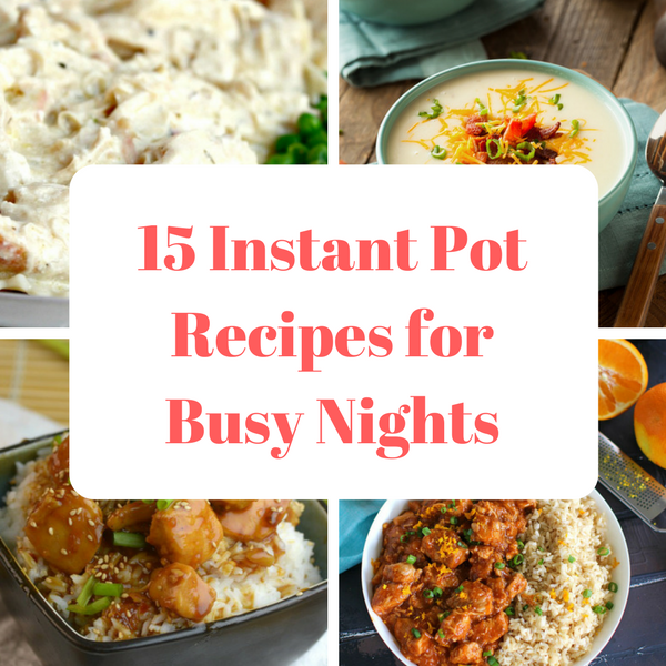 """Insta Pot Recipes for Busy Nights - move over slow cooker, enter Insta Pot - delicious recipes, made in less than 30minutes, but with all the flavours of the crock pot. No more """"lingering"""" crock pot smells, but delicious meals for busy nights for all the family to enjoy. Take a look today!"""
