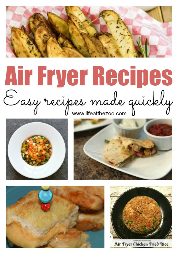 Easy Air Fryer Recipes for Healthier Eating. Join the latest Air fryer craze and learn about these fantastic and innovative family meal recipes. #airfryer #familymeals #easyrecipes