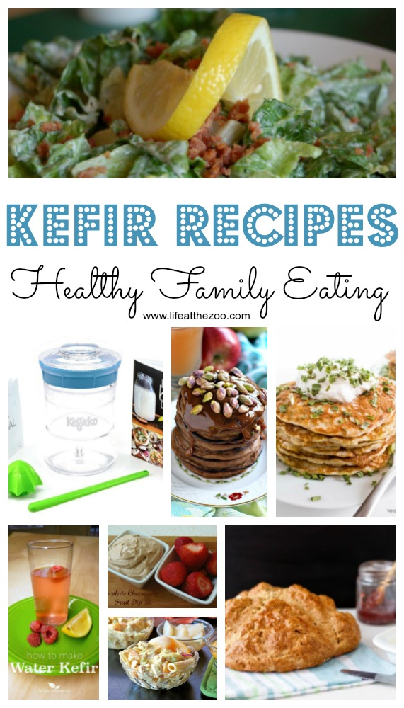 Easy Kefir Recipes for the family - healthy eating #kefir #familymeals #recipes #healthy