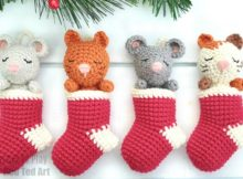 Crochet Stocking Advent Calendar